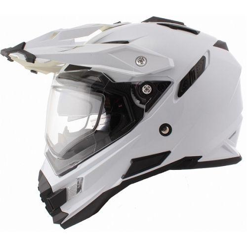 ONEAL Шлем Sierra белый с пинлоком+дефлектор дыхания (XL)