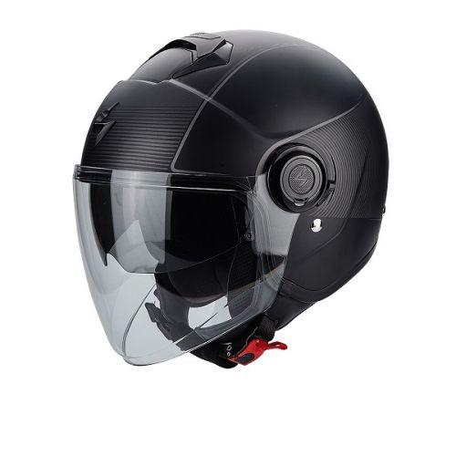 Zoom Мотошлем CITY, цвет Черный Матовый(XL)