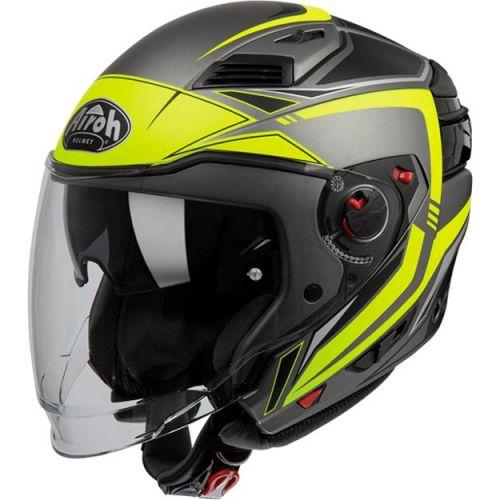 Дорожный шлем Airoh Executive Line мат/желт L