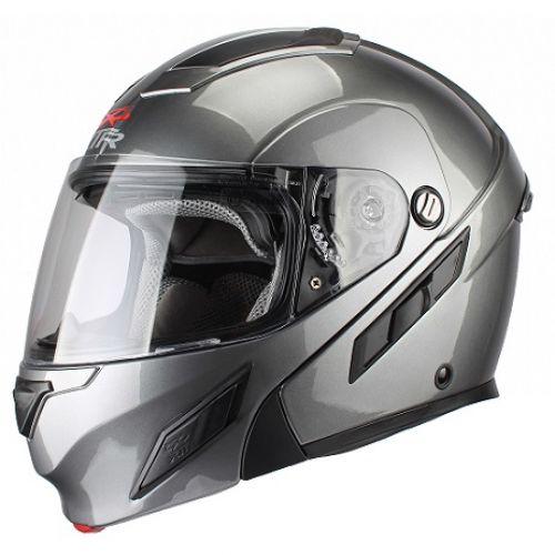 Шлем модуляр MODE2 серый M