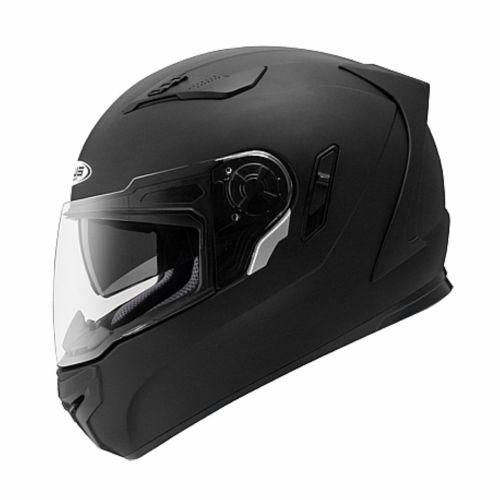 ZEUS Шлем интеграл ZS-813A черный матовый (L)