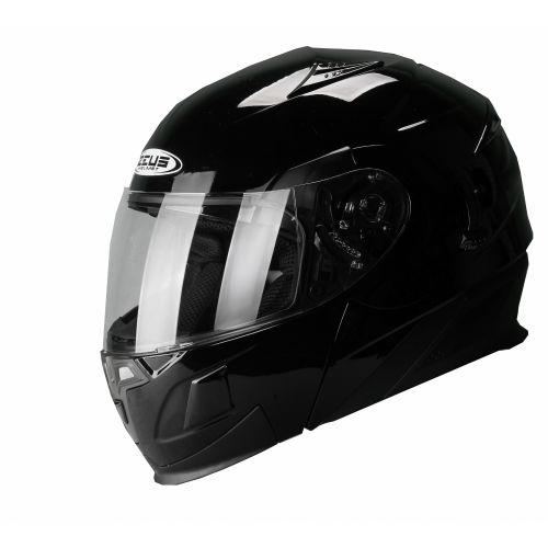 ZEUS Шлем модуляр ZS-3020 черный глянец (L)