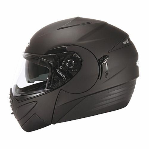 ZEUS Шлем модуляр ZS-3020 черный матовый (L)