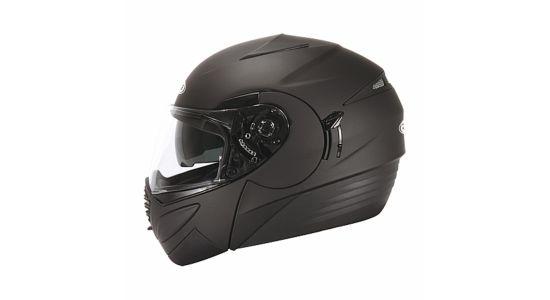 ZEUS Шлем модуляр ZS-3020 черный матовый (S)