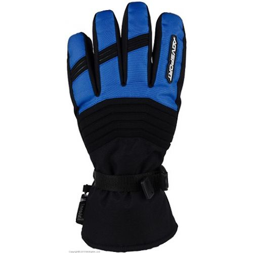 Снегоходные перчатки Kapay, черный\синий  Размер S