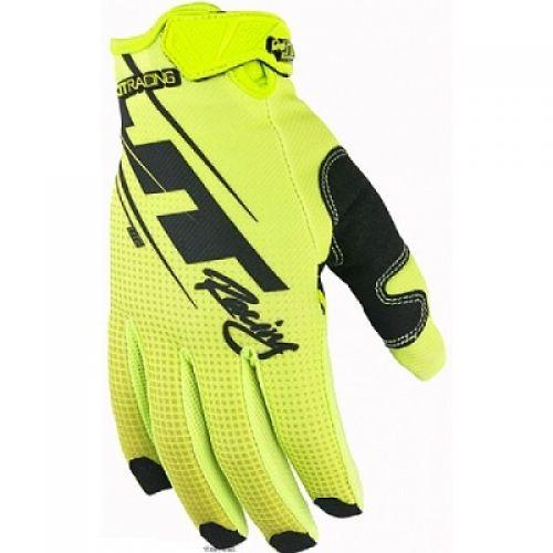 Перчатки LITE SLASHER жёлтые неоновые Размер:XL