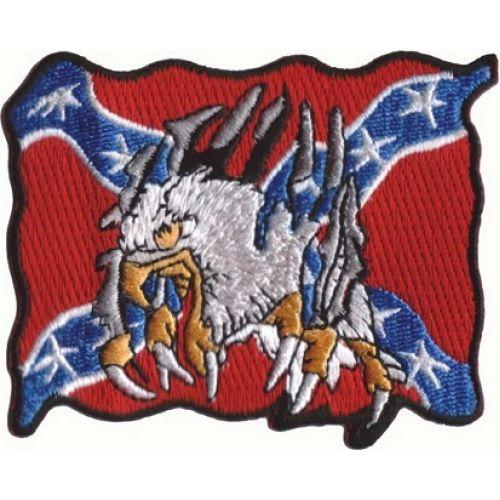 Нашивка Eagle & confederate flag