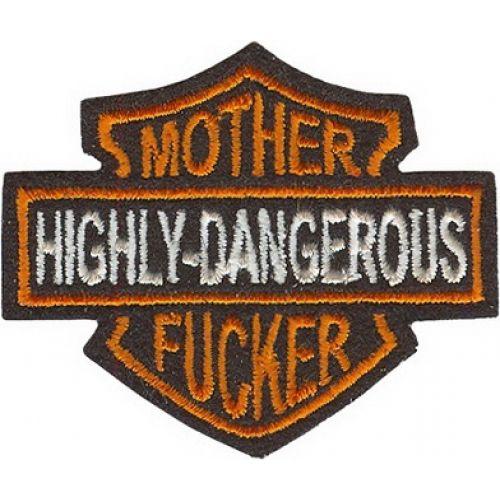 Нашивка Highly dangerous