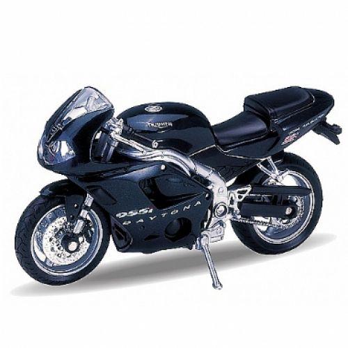 Модель мотоцикла 1:18 Triumph Daytona 955I