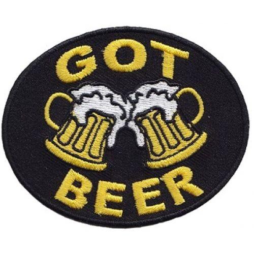 Нашивка Получил пиво