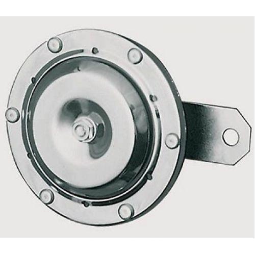 Гудок хром 12V, диаметр 100mm