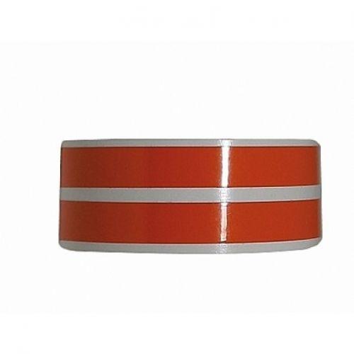 Наклейка на колесный диск оранжевый KTM
