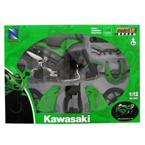 Модель мотоцикла сборная 1:12 Kawasaki Ninja ZX-10R