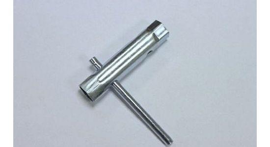 Ключ свечной трубчатый 16мм/200мм