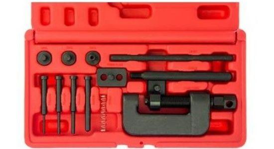Набор инструмента для расклёпки/заклёпки цепи JT