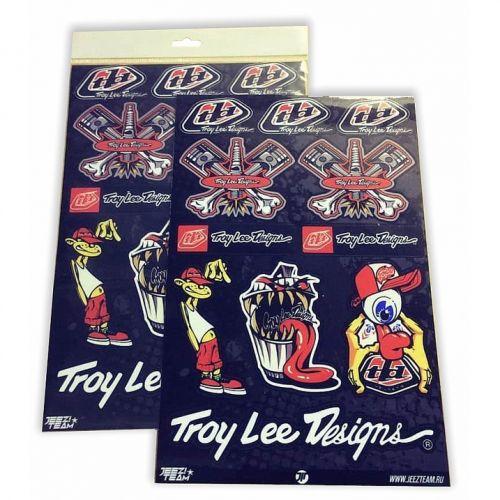 Наклейки ST0030 Troy Lee