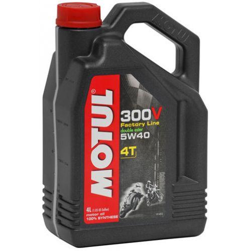 MOTUL 300V 4T FACTORY LINE 5W-40 (4л)