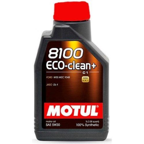 MOTUL 8100 ECO-CLEAN+ 5W30 (1 ЛИТР)