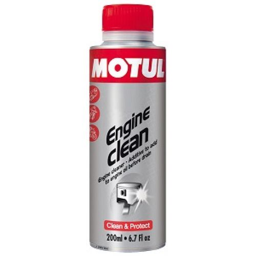 Промывка двигателя Motul Engine Clean Moto 0,2л