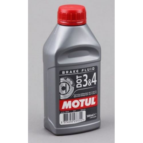 Тормозная жидкость MOTUL DOT 3&4 BRAKE FLUID 500 МЛ