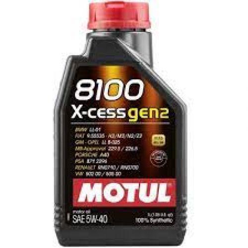 MOTUL 8100 X-CESS GEN2 5W40 (1 лт)