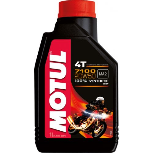 Масло Motul 4T 7100 20W50 100% Synth. Ester 1л