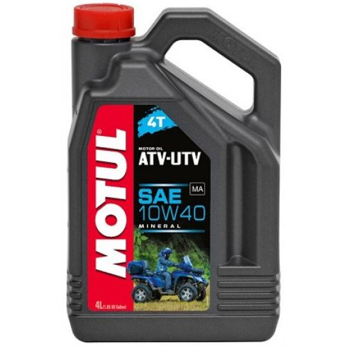 Motul ATV-UTV 4T SAE 10W40 4 л минеральное