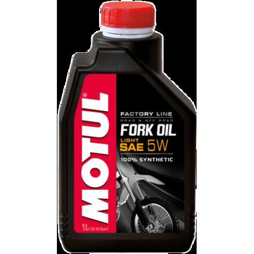 Вилочное масло Motul Fork Oil Factory Line 5w 1 литр