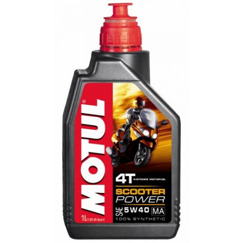 MOTUL Scooter Power 4T MA 5W40  1 литр