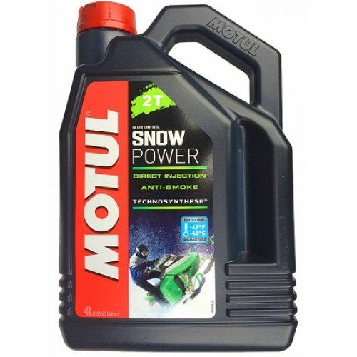 MOTUL SNOWPOWER 2T 4 ЛИТРА