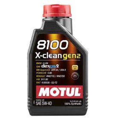 MOTUL 8100 X-Clean GEN2 5w40 1lt