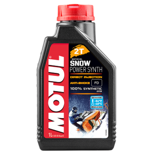 Motul Snowpower Synth 2T 1 литр