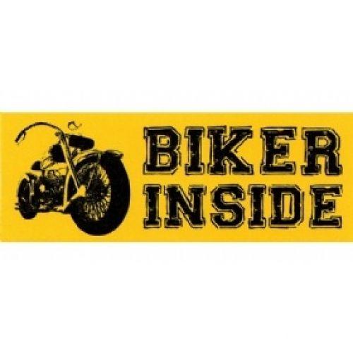 Наклейка Biker Inside чоппер