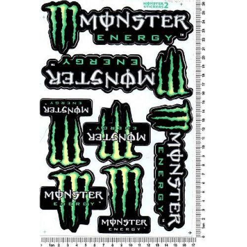 Наклейки MONSTER ENERGY 021