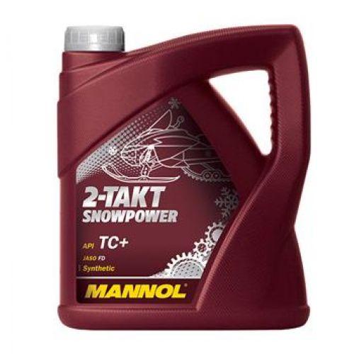 MANNOL 2-TAKT SNOWPOWER 4 литра (Синтетика до -42 С)