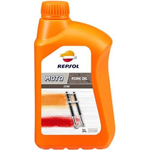 """Масло вилочное синтетическое REPSOL """"Fork Oil 10W"""" 1л"""
