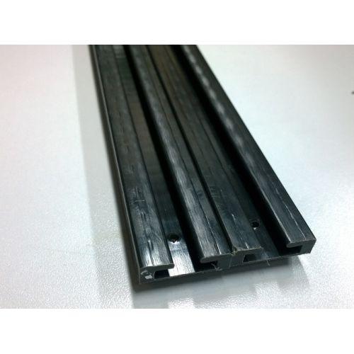 Склизы, 141 см, Черный цвет (LYNX 549582)  Профиль 01