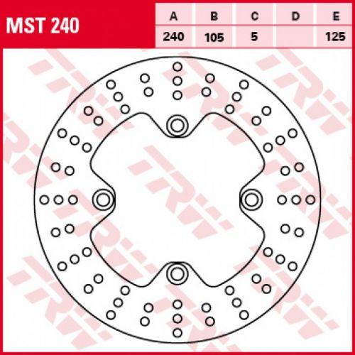 Тормозной диск MST240