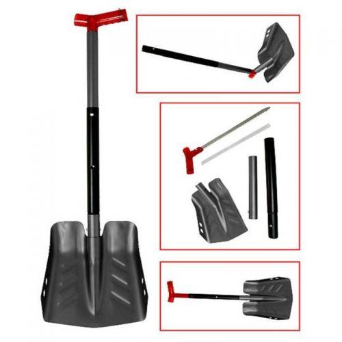 Лопата разборная с пилой (черная) SC-12500BK-6