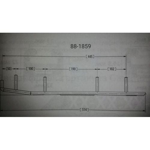 Конек лыжи BRP (комплект 2шт) 88-1859