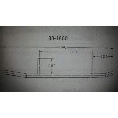 Конек лыжи BRP (комплект 2шт) 88-1860