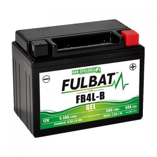 Аккумулятор гелевый FB4L-B (YB4L-B)