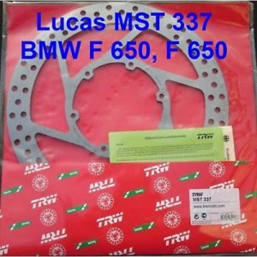 Тормозной диск TRW/Lucas MST337